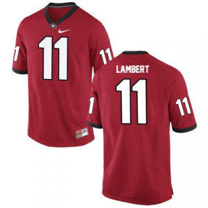 Youth Nike  #11 Replica Red Greyson Lambert Georgia Bulldogs Alumni Football Jersey